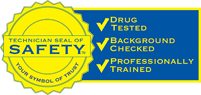 Technician Safety Seal Background Checks
